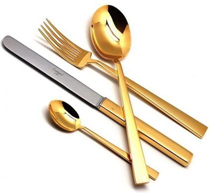 Столовые приборы, 24пр. Cutipol BAUHAUS GOLD 9321