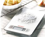 Весы кухонные электронные белые 5кг/1гр Soehnle Slim Design Page White 66100