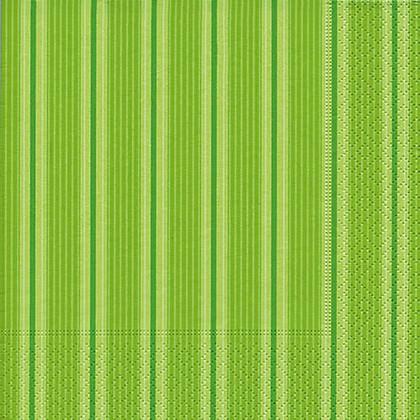 Салфетки для декупажа Зеленая полоса, 33x33см, 3 слоя, 20шт Paper+Design 21745