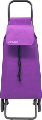 Сумка-тележка хозяйственная фиолетовая Rolser RG SAQUET SAQ002malva