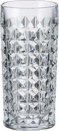 Набор стаканов для воды Диаманд 260мл, 6 шт Crystalite Bohemia 2KE38/0/99T41/260