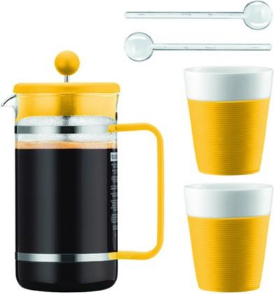 Набор кофейный 5 предм., цвет в ассортименте Bodum BISTRO AK1508-XY-Y15