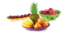 Миска-дуршлаг для овощей и фруктов широкая, 30см Tescoma VITAMINO 642784