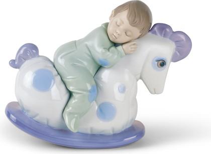 Статуэтка фарфоровая Спят усталые игрушки (Rock Me To Sleep) 14см NAO 02001476