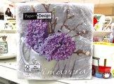 Салфетки для декупажа Приветствие весны, 33x33см, 3 слоя, 20шт Paper+Design 21901
