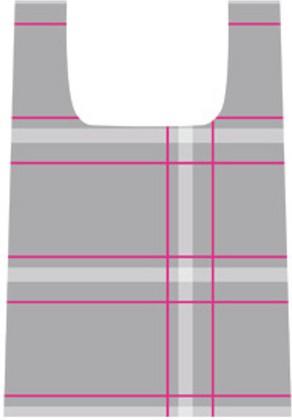 """Сумка для покупок складная, """"Шоп!"""" (SHOP!) от """"Тескома"""" (Tescoma), дизайн 2, 906130"""