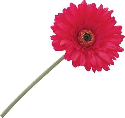 """Floralsilk Искусственные цветы """"Гербера малиновая"""", длина 64см, с эффектом живого прикосновения, артикул BB21184CE"""