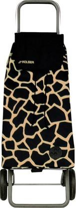 Сумка-тележка хозяйственная чёрный с золотом Rolser LOGIC RG PAC025camel