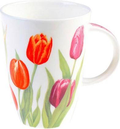 "Кружка ""Тюльпаны"" Луиза 400мл Roy Kirkham XNEWTUL1035"