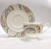 Чашка с блюдцем Мариенталь фиолетовый, ф. Айседора ИФЗ 81.18263.00.1