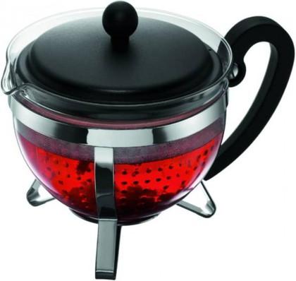 Чайник заварочный с сито-фильтром Beaubourg чёрный, 1.0л Melior M1975-01