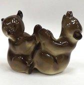 Скульптура-подставка Мишки, фарфор ИФЗ 82.08477.00.1
