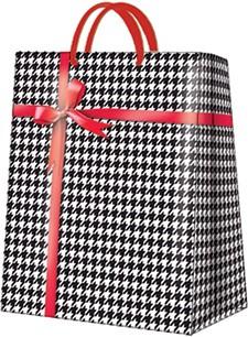 """Пакет подарочный """"Гусиные лапки"""" 30x41x12см Paw AGB021702"""