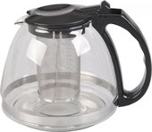 Чайник заварочный 1.3 л, черный, Walmer W05620006