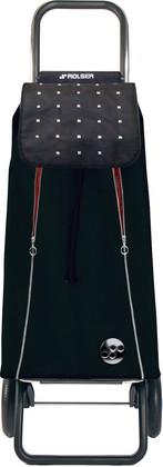 Сумка-тележка хозяйственная чёрная с красным Rolser LOGIC RG PAC095negro/rojo