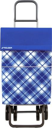 Сумка-тележка хозяйственная синяя DOS+2 Rolser DML022azul