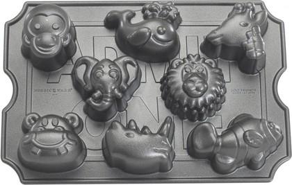 "Форма для 8 кексов ""Зоопарк"" Nordic Ware 82224"