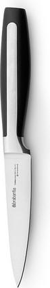 Нож универсальный матовый стальной / чёрный Brabantia Profile 500060