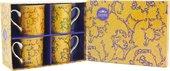 Набор Кружек Уильям Моррис Дейзи 4шт, 300мл The Leonardo Collection LP92794