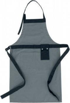 Фартук кухонный серый с чёрным Brabantia 621260
