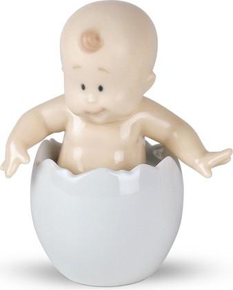 Статуэтка фарфоровая Из Яйца? (From an Egg?) 9см NAO 02005023
