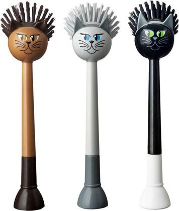 Щётка для посуды, кошки Vigar Vincent's farm 6260