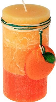 """Свеча """"Спелые фрукты"""", колонна, 5х14см Bartek Candles 168011"""