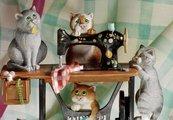 """Статуэтка """"Рукодельницы"""" (Sew Far Sew Good), 28см Enesco A20452"""