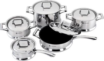 Набор посуды из нержавеющей стали, 10 предметов Yamateru MONOGATARI 4991010