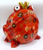 Копилка Гигантская Царевна лягушка оранжевая 33см Pomme-Pidou 148-00110/2