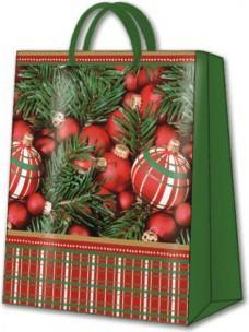 Пакет подарочный Украшение для ёлки 20х10х25 см Paw AGB007203