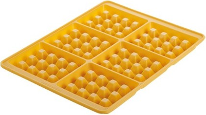 Форма для выпечки 6 вафель Tescoma DELICIA SILICONE 629342