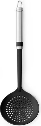Шумовка, матовая сталь / чёрный Brabantia Profile 363689