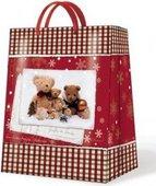 """Пакет подарочный """"Семейство Мишек"""" 26х13х33см Paw AGB019905"""