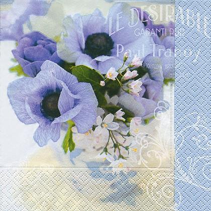 Салфетки для декупажа Слишком мило, 33x33см, 3 слоя, 20шт Paper+Design 21642