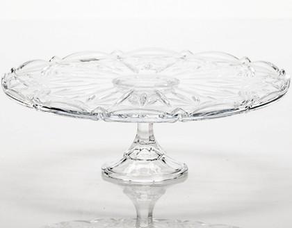 """Тарелка для торта на ножке """"Таурус"""" 31см Crystalite Bohemia 69003/0/99007/310"""