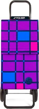 Сумка-тележка хозяйственная фиолетовая Rolser RG PARIS PAR040more