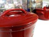 Кастрюля DUO+ с керамической крышкой 2.5л красная Ceraflame C14131686