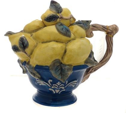 """Чайник заварочный """"Лимоны"""" 25x17см Blue Sky 13357"""