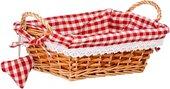 Корзинка для xлеба прямоугольная, красная клетка, 25x18см Premier Housewares 1901050
