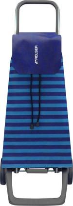 Сумка-тележка хозяйственная сине-голубая Rolser JOY JET JET021azul
