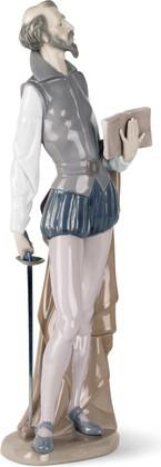 Статуэтка фарфоровая Читающий Дон Кихот (Don Quixote Reading) 35см NAO 02000305