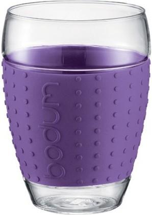 Бокалы Pavina, 2 шт. по 0,45л, фиолетовые, 11166-278