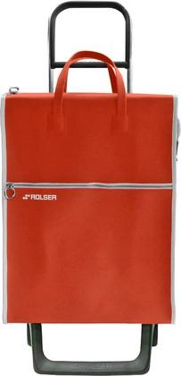 Сумка-тележка хозяйственная красная Rolser JOY-1800 MNL001rojo