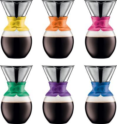 Кофейник с фильтром 1.5л, цвет в ассортименте Bodum POUR OVER A11593-XYB-Y15