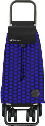 Сумка-тележка хозяйственная складная сине-чёрная Rolser LOGIC TOUR PAC043azul/negro