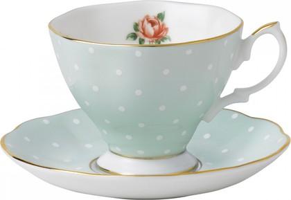 Кофейная пара Полька Роуз, 150мл Royal Albert POLROS26136