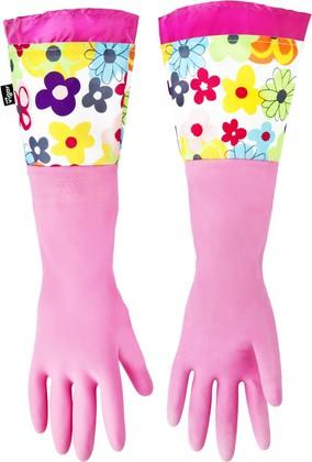 Перчатки для уборки Vigar Watercolor 4159