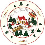 Тарелка 20см Рождественская деревенька Masons 56533401003