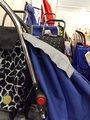 Сумка-тележка хозяйственная SPS001 голубая LOGIC RG Rolser SPS001azul